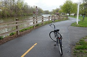 Cycle the Erie Canal Trail in Upstate New York